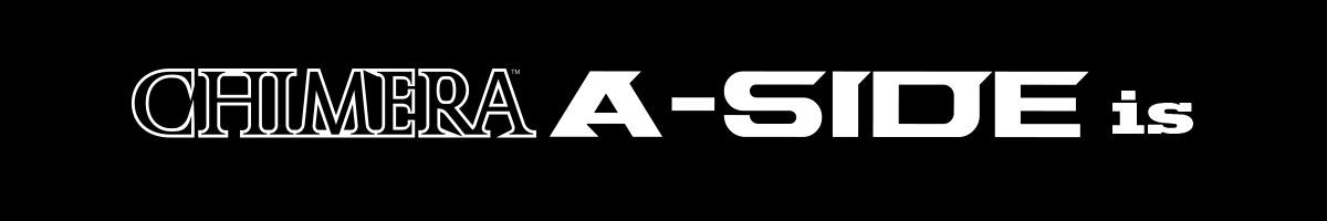 CHIMERA A-SIDEのバナー:A-SIDE ISページリンクバナー