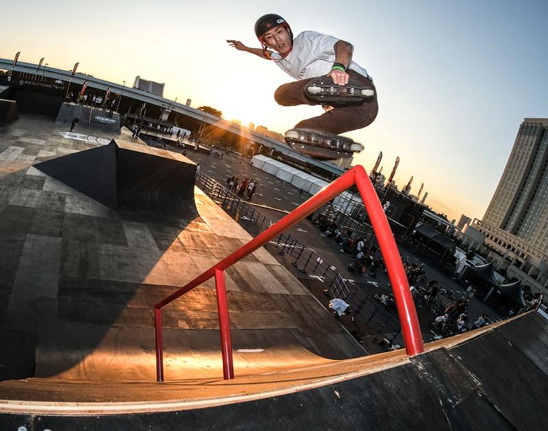CHIMERA A-SIDEのA-SIDE-IS画像:Inline Skate インラインスケート