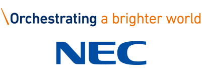 CHIMERA A-SIDEの協賛ロゴ:NEC - エヌイーシー - 日本電気株式会社