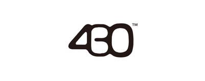CHIMERA A-SIDEの協賛ロゴ:430 FOURTHIRTY フォーサーティ
