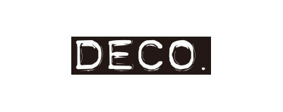 CHIMERA A-SIDEの協賛ロゴ:DECO デコ