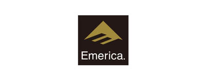 CHIMERA A-SIDEの協賛ロゴ:Emerica エメリカ