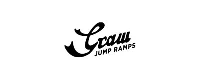 CHIMERA A-SIDEの協賛ロゴ:Graw Jump Ramps グロウ ジャンプ ランプス