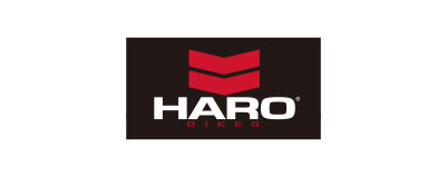 CHIMERA A-SIDEの協賛ロゴ:HARO-BIKES ハローバイクス