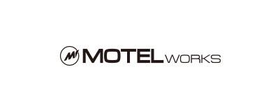 CHIMERA A-SIDEの協賛ロゴ:MOTEL-WORKS モーテルワークス