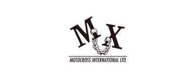 CHIMERA A-SIDEの協賛ロゴ:MOTOCROSS INTERNATIONAL モトクロスインターナショナル