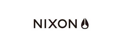 CHIMERA A-SIDEの協賛ロゴ:NIXON ニクソン