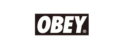 CHIMERA A-SIDEの協賛ロゴ:OBEY オベイ