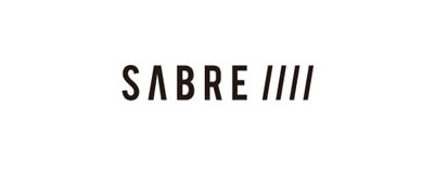 CHIMERA A-SIDEの協賛ロゴ:SABRE セイバー