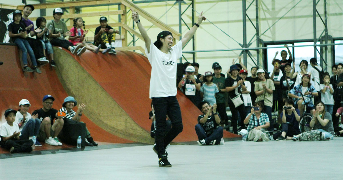 CHIMERA-A-SIDEの1stLEAGUE-2019のReport ハイライト画像:BMX-Flatland BMXフラットランド