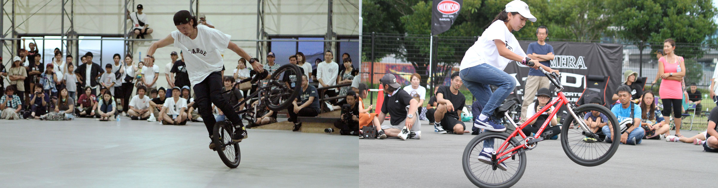 CHIMERA-A-SIDEの1stLEAGUE-2019のReport メイン画像:BMX-Flatland BMXフラットランド