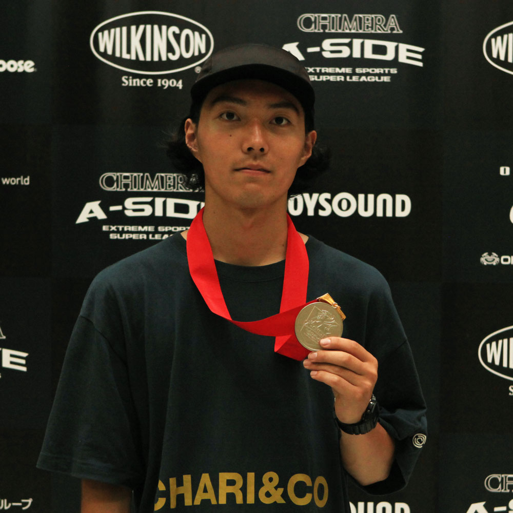 CHIMERA-A-SIDEの1stLEAGUE-2019のReport Pickup選手 RYO KATAGIRI 画像:BMX-Flatland BMXフラットランド