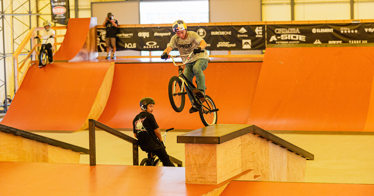 CHIMERA-A-SIDEの1stLEAGUE-2019のReport ハイライト画像:BMX-FreestylePark BMXフリースタイルパーク