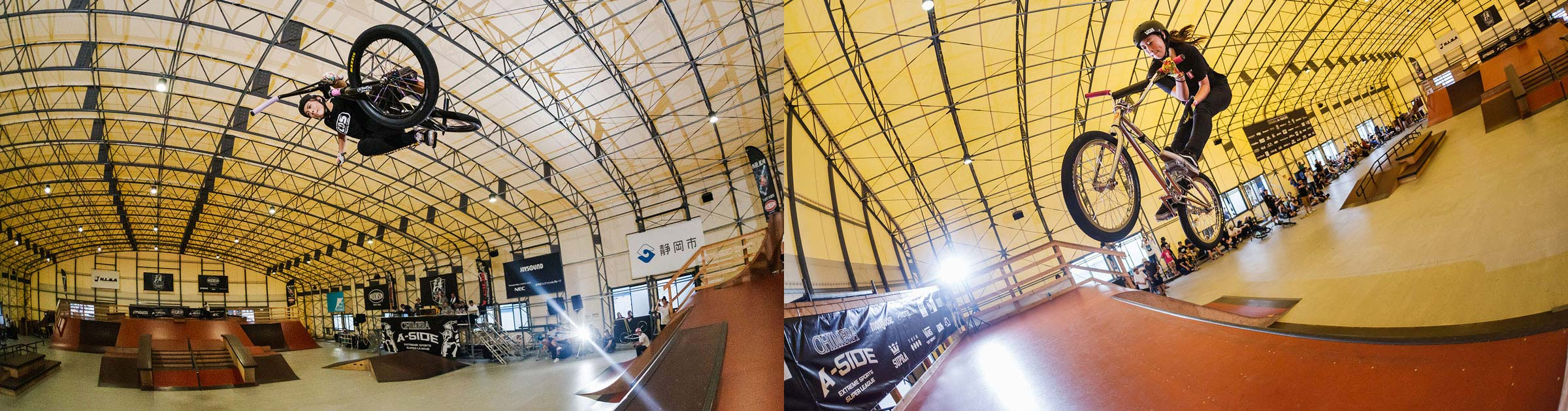 CHIMERA-A-SIDEの1stLEAGUE-2019のReport メイン画像:BMX-FreestylePark BMXフリースタイルパーク