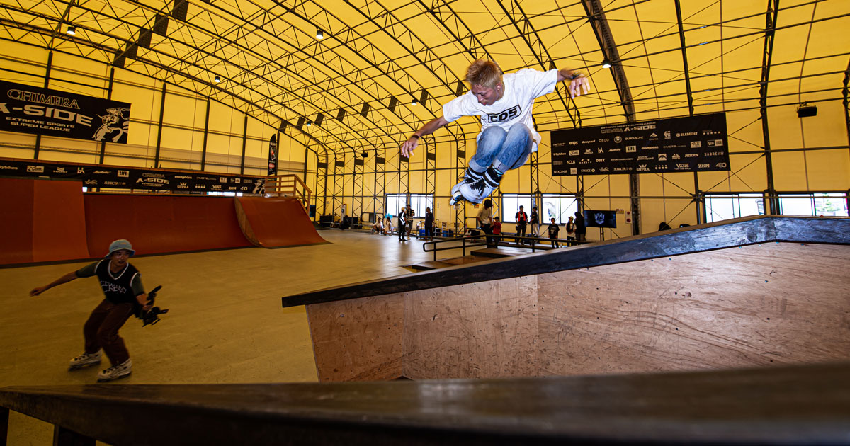 CHIMERA-A-SIDEの1stLEAGUE-2019のReport ハイライト画像:Inline Skate インラインスケート