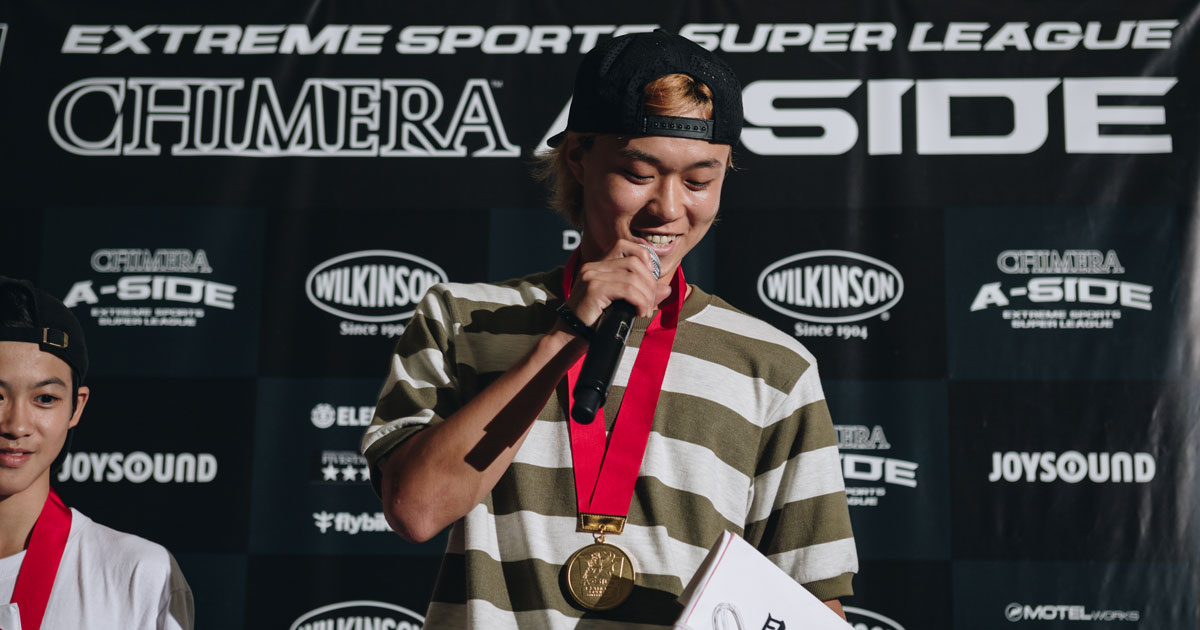 CHIMERA-A-SIDEの1stLEAGUE-2019のReport ハイライト画像:Skateboard スケートボード