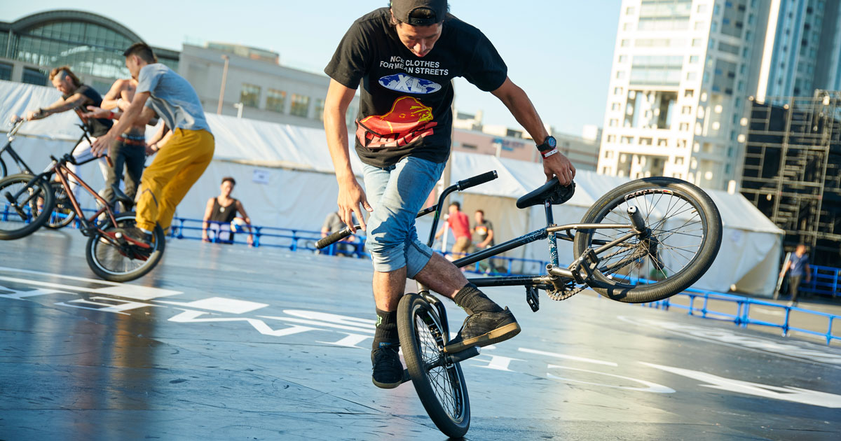 BMX Flatland:2ND LEAGUE
