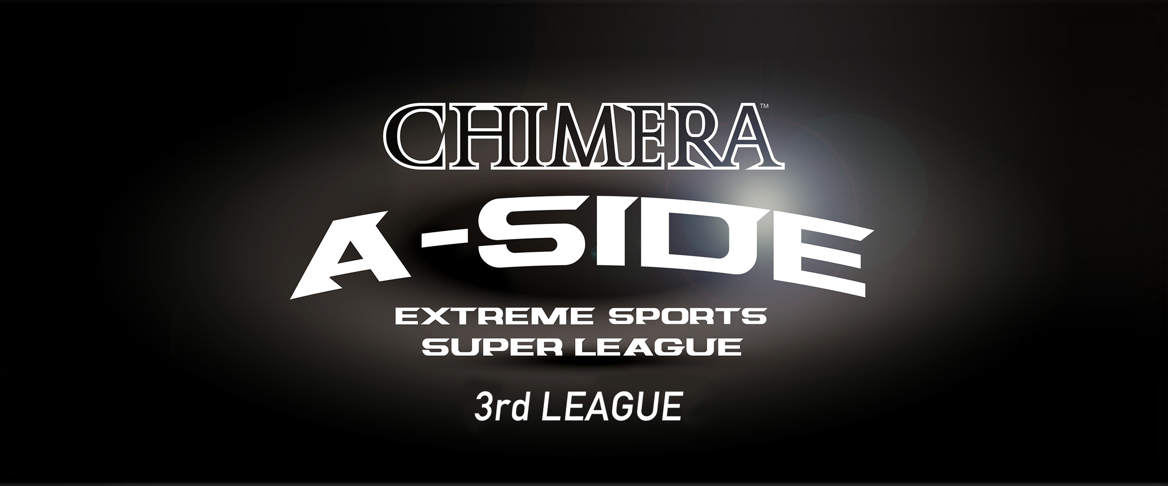 CHIMERA A-SIDEの3rdLEAGUE-2019のスライダーによるキービジュアル