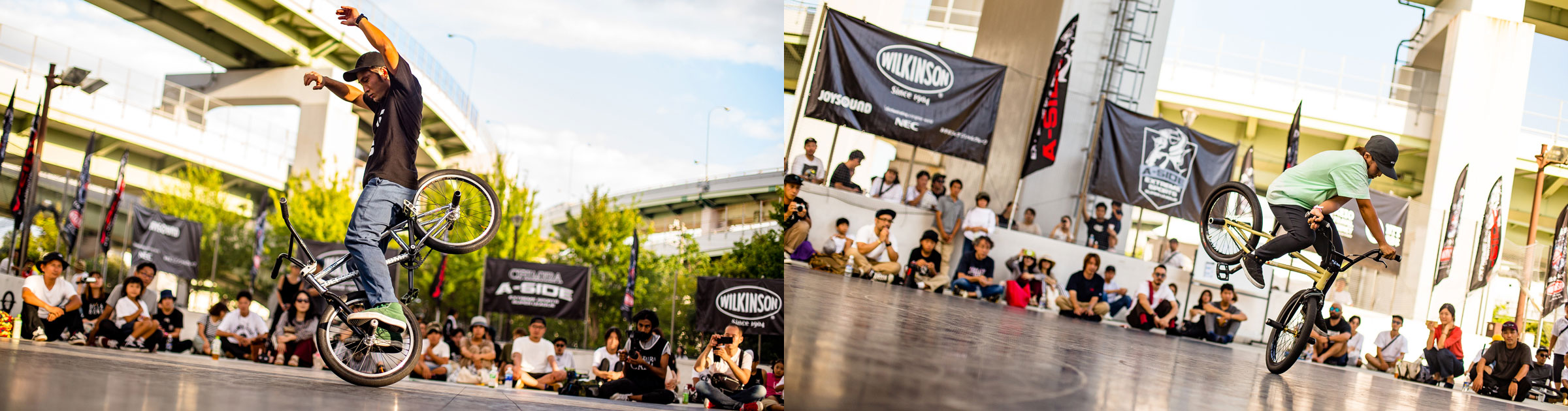 CHIMERA-A-SIDEの2ndLEAGUE-2019のReport メイン画像:BMX-Flatland BMXフラットランド