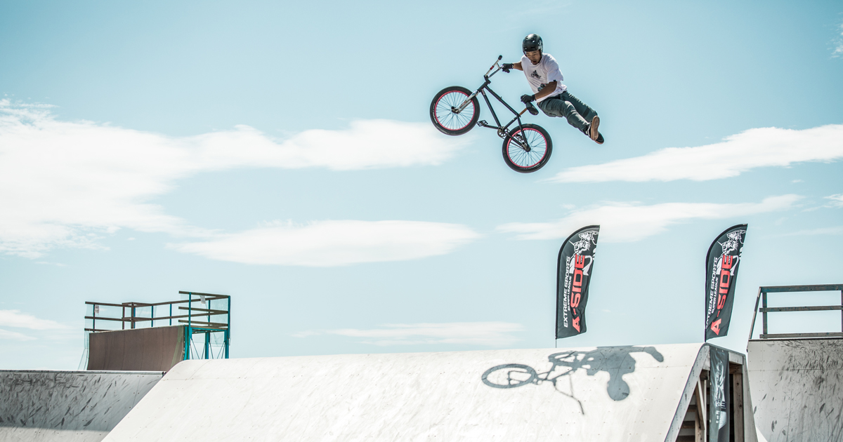 CHIMERA-A-SIDEの2ndLEAGUE-2019のReport ハイライト画像:BMX-FreestylePark BMXフリースタイルパーク