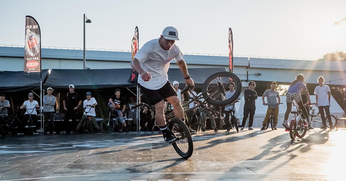 CHIMERA-A-SIDEのTHE FINAL-2019の競技エントリーボタン非リンク:BMX Flatland BMXフラットランド