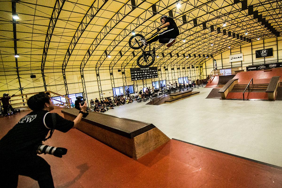 CHIMERA A-SIDEのアーカイブ画像:2019 1ST LEAGUE BMX Freestyle Park