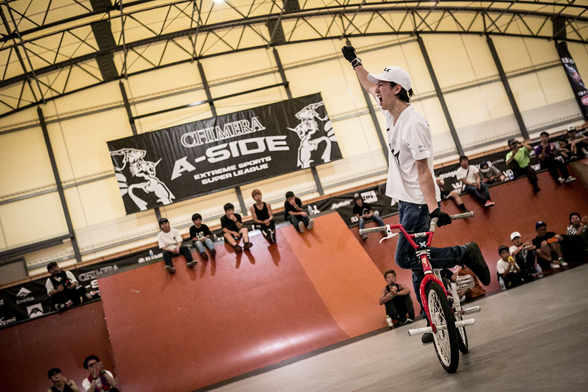 CHIMERA A-SIDEのアーカイブ画像:2019 1ST LEAGUE BMX Flatland