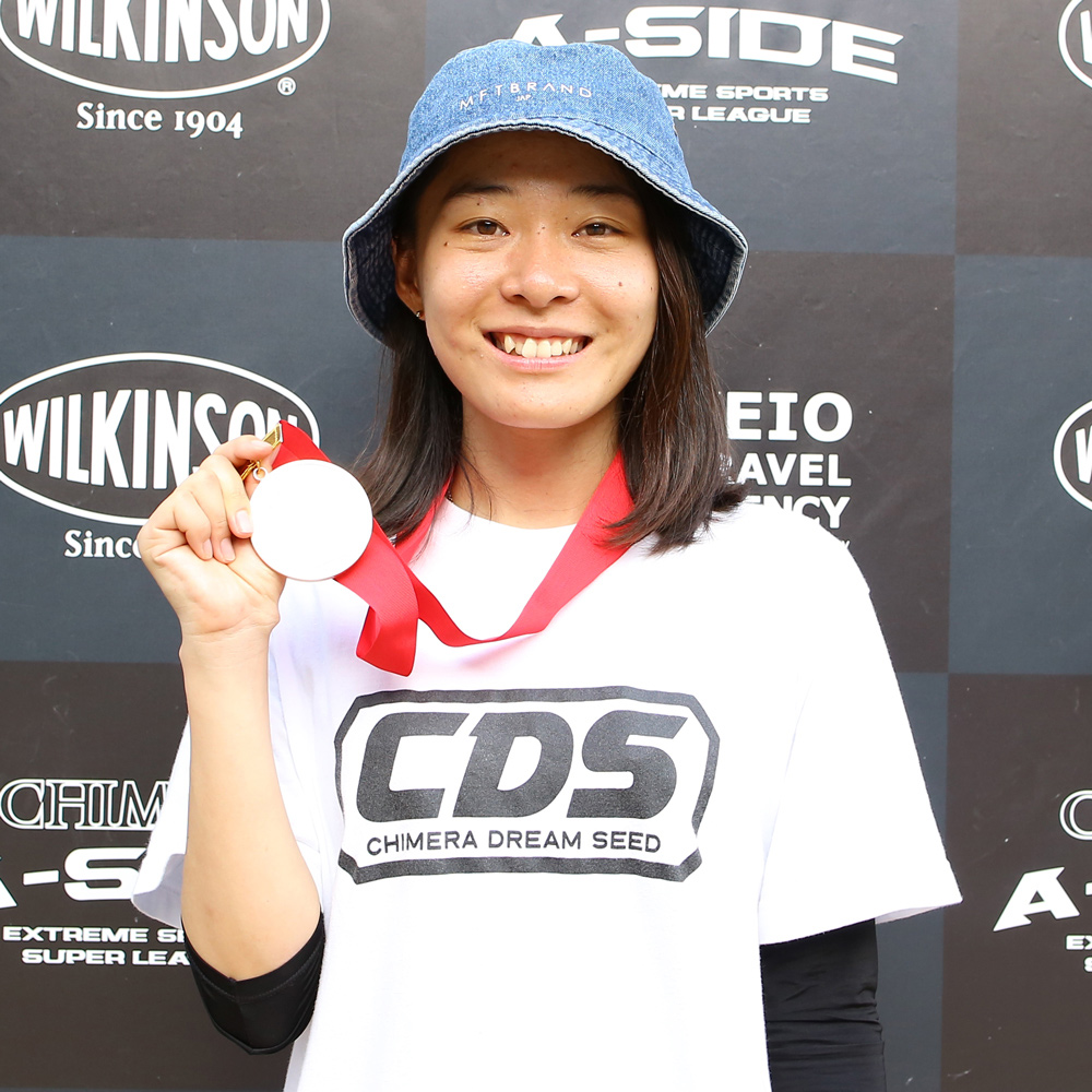CHIMERA-A-SIDEの2ndLEAGUE-2019のReport Pickup選手 CHIHIRO AZUMA 画像:Inline Skate インラインスケート