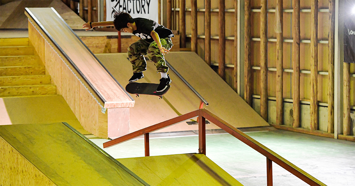 CHIMERA-A-SIDEの2ndLEAGUE-2019のReport ハイライト画像:Skateboard スケートボード