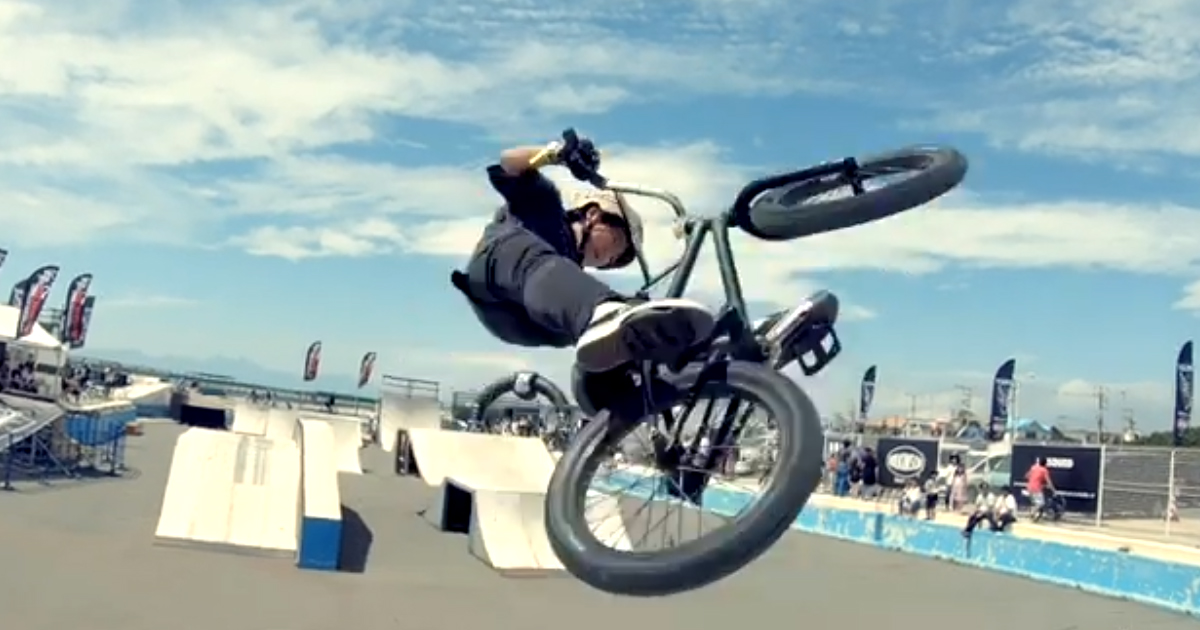 CHIMERA A-SIDE 2019 の競技 BMX FreestylePark の2ND LEAGUE総集編動画 のサムネイル画像
