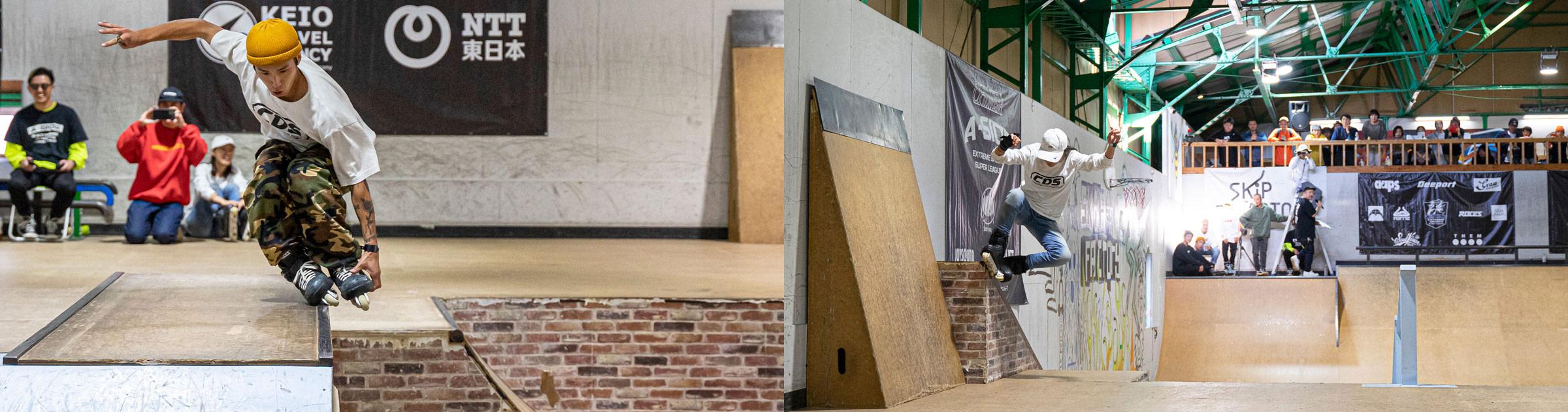 CHIMERA-A-SIDEの3rdLEAGUE-2019のReport メイン画像:Inline Skate インラインスケート