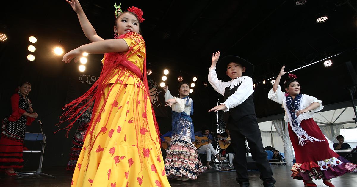 CHIMERA A-SIDEのTHE FINAL 2019のコンテンツ:フラメンコ Flamenco