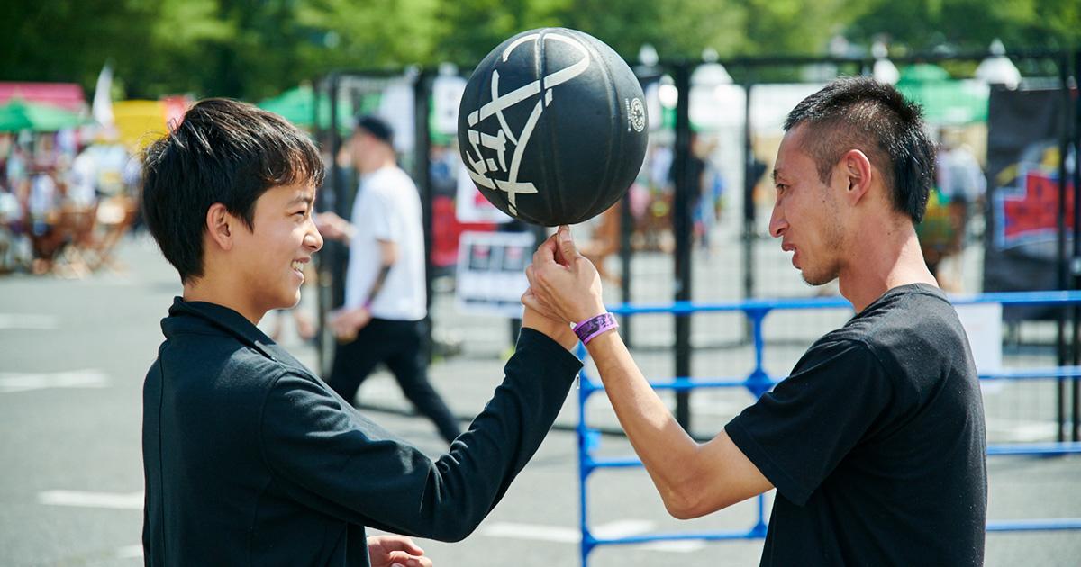CHIMERA A-SIDEのTHE FINAL 2019のコンテンツ:フリースタイルバスケットボール Freestyle Basketball