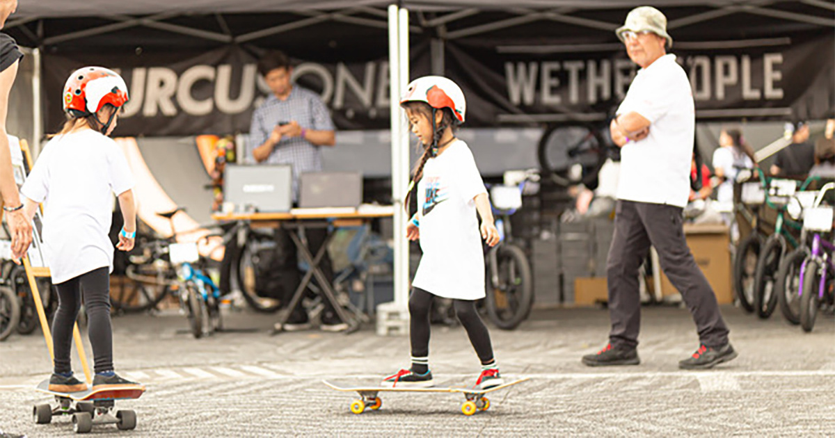 CHIMERA A-SIDEのTHE FINAL 2019のコンテンツ:サーフスケート&フリースタイルスクーター SURFSKATE & FREESTYLE SCOOTER